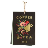 2016 Coffee & Tea Wall Calendar by RIFLE PAPER Co. | Made in USA