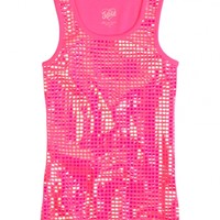 Allover Embellished Tank