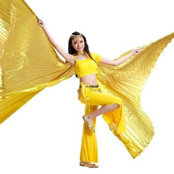 High Quality Egyptian Opening Isis Belly Dance Wings Dance Accessories Wings Sale Without Stick Brand New