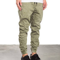 Down Under Jogger - Army Green