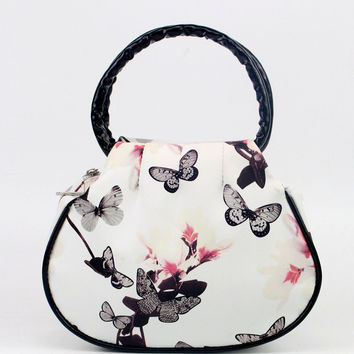 bolsos mujer handbag Women Floral leather Shoulder Bag Satchel Handbag Retro Messenger Bag Jul21