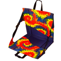 Crazy Creek Chair from Everything Summer Camp. Folding seat for summer camp.