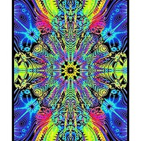 Wormhole Blacklight Poster - Spencer's