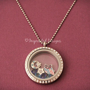 Pick 7 Charms - Floating Charm Locket - Design Your Own Locket - Memory Locket