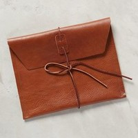 Tied Envelope Clutch by Specialty Dry Goods Cedar One Size Clutches