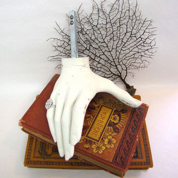 Vintage Mannequin Hand  Halloween Addams Family by AustinModern