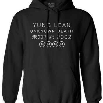 YUNG LEAN UNKNOWN DEATH Sad Boys sweatshirt Men Cotton long Sleeve autumn male tracksuit drake man brand clothing hoody hooded