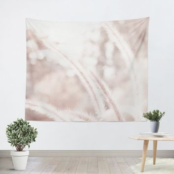 Abstract Pink Tapestry