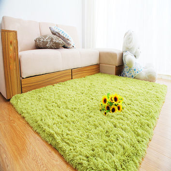 2016 Winter Non-Fading Plush Non-Slip Door Floor Baby Mat Water Absorption Rugs And Carpets For Living Room Bedroom Alfombras