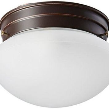 "Nuvo 60-2641 - 6"" Flush Mount Ceiling Light in Mahogany Bronze Finish"