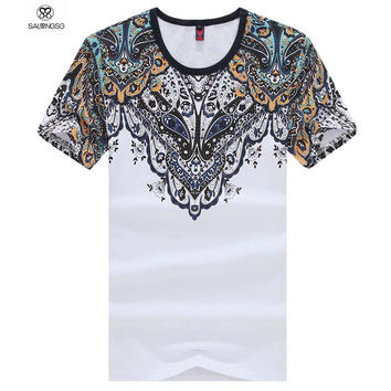 2015 New Mens Summer Tops Tees Short Sleeve Brand Designer