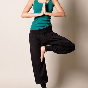 Bamboo Taj Pants - Black