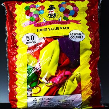 Party Balloons 50 Pack - M154