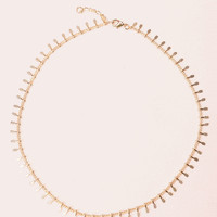 Gold Charm Necklace - Jewellery - Accessories