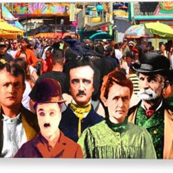 Charlie And Friends Tries To Blend In With The Crowd 5d23867 Canvas Print