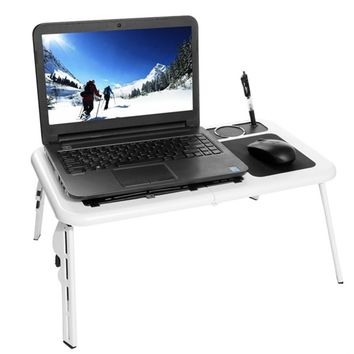 HOMDOX Laptop Stand New Portable Folding Adjustable Bed Notebook Table Desk..
