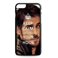 Once Upon A Time Captain Hook Keep Calm iPhone 6 Plus Case