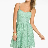 Fire Lace Dress (Juniors) | Nordstrom