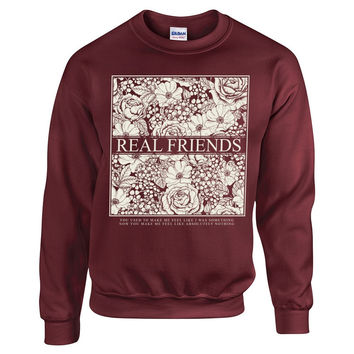 Real Friends - Lost Boy Crewneck – SilverBulletMerch