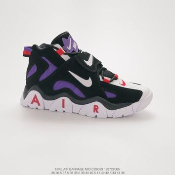 Nike Air Barrage Mid QS Black/Purple