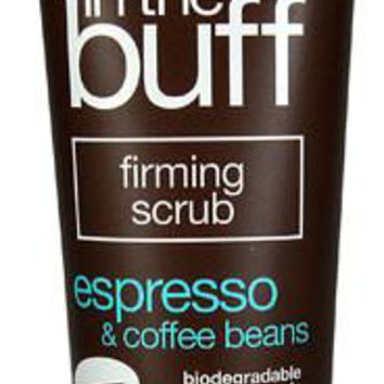 Alba Botanica Body In The Buff Scrub - Firming Espresso And Coffee Beans - Case Of 1 - 9 Oz.