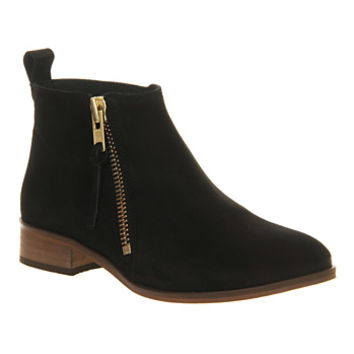 Office Mambo 2 Black Suede - Ankle Boots
