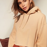 Out From Under Cropped Hoodie Sweatshirt | Urban Outfitters