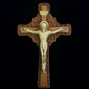 Vintage Wall Crucifix