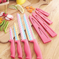 4-Pc. Colorful Pattern Cutlery Sets