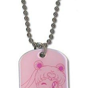 Sailor Moon Sailor Moon Dog Tag Necklace