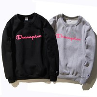 Autumn and winter new Champion sweater English men and women couples plus long-sleeved sweater tide coat