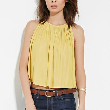 Contemporary Shirred Top | LOVE21 - 2000187250