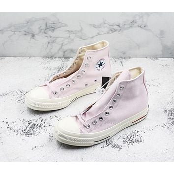 Converse Chuck Taylor All Star 1970s High Top Heritage Pink Canvas Sneakers