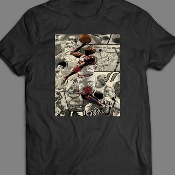 MICHAEL JORDAN DUNK CUSTOM ART T-SHIRT
