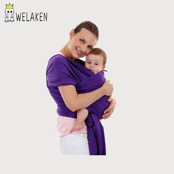 Multifunctional Front Facing Baby Backpacks Boys Girls Outdoor Kangaroo Infant Gear Cotton Soft Pouch Wrap Baby Carries