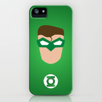 GREEN LANTERN iPhone & iPod Case by RobozCapoz