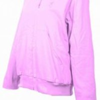 SPG's Women's Hooded Cotton Canvas Jacket - Pink