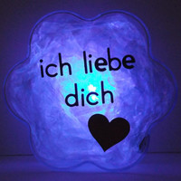 GlowFlower (German) -unique, cool, gift for her, gift for him, valentine's day