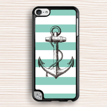 tree anchor ipod case,blue line ipod 4 case,art anchor ipod 5 case,anchor touch 4 case,geometrical anchor touch 5 case,art design ipod touch 4 case,personalized ipod touch 5 case