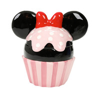 Disney Minnie Mouse Cupcake Cookie Jar