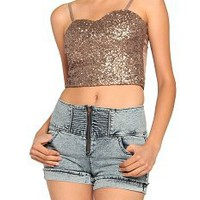 Tina Turner Crop Top
