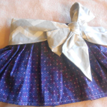 Newborn Bow skirt, newborn skirt, newborn circle skirt 0-3 month, photo prop