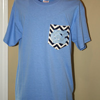 Ladies North Carolina Pocket Tee