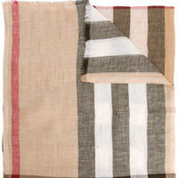 Burberry Check Print Scarf - Farfetch