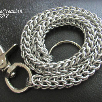 Wallet Chain - Chainmaille Wallet Chain - Trucker Wallet Chain - Biker Wallet Chain - Mens Gifts - Full Persian - Gift for Him