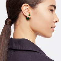 Double Sided Orbit Stud Earrings