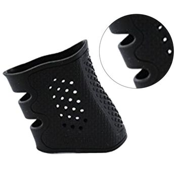 Outdoor Handguns Airsoft Hunting Pistol Rubber Grip Glove Accessories  Tactical Cover Sleeve Anti Slip for Most of Glock