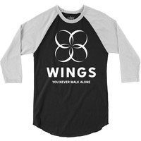 BTS Wings 3/4 Sleeve Shirt