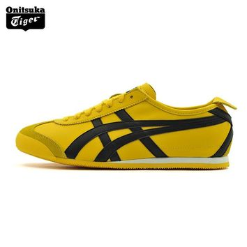 qiyif Onitsuka Tiger MEXICO 66  Men Sport Shoes Classical Color Breathable Lovers Shoes Lightweight Women Sneakers DL408-0490