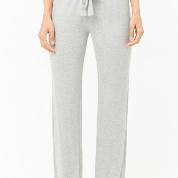 Ribbed Pajama Bottoms